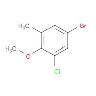5-Bromo-1-chloro-2-methoxy-3-methylbenzene
