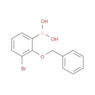 3-Bromo-2-(phenylmethoxy)phenylboronic acid