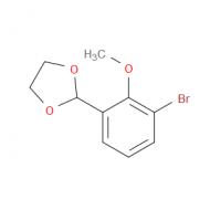 2-(3-Bromo-2-methoxyphenyl)-1,3-dioxolane