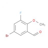 5-Bromo-3-fluoro-2-methoxybenzaldehyde