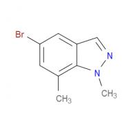 5-Bromo-1,7-dimethylindazole