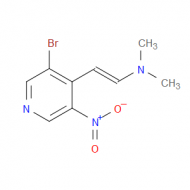 2-(3-Bromo-5-nitro-4-pyridinyl)-N,N-dimethylethenamine