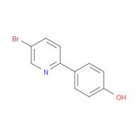 4-(5-Bromo-2-pyridinyl)phenol