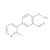 5-(2-Fluoropyridin-3-yl)-2-methoxybenzaldehyde