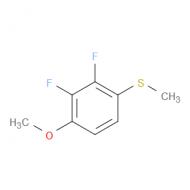 2,3-Difluoro-1-methoxy-4-(methylsulfanyl)benzene
