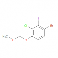 4-Bromo-2-chloro-3-iodo-1-(methoxymethoxy)benzene