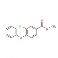 3-Chloro-4-phenoxybenzoic acid methyl ester
