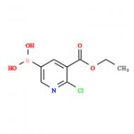 (2-Chloro-5-(ethoxycarbonyl)pyridin-3-yl)boronic acid