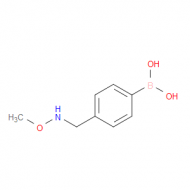 4-[(Methoxyamino)methyl]phenylboronic acid
