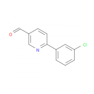6-(3-Chlorophenyl)pyridine-3-carbaldehyde
