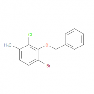 1-(benzyloxy)-6-bromo--2-chloro-3-methylbenzene