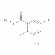 Methyl 5-bromo-2-fluoro-3-methylbenzoate