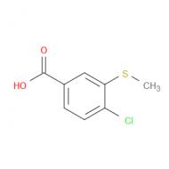 4-Chloro-3-(methylthio)benzoic acid