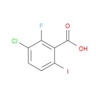 3-Chloro-2-fluoro-6-iodobenzoic acid