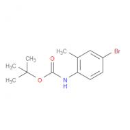 tert-Butyl 4-bromo-2-methylphenylcarbamate