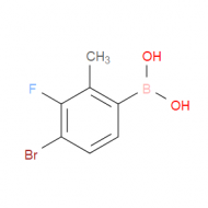 4-Bromo-3-fluoro-2-methylphenylboronic acid