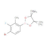 4-Bromo-3-fluoro-2-methylphenylboronic acid pinacol ester