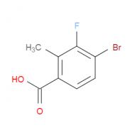 4-Bromo-3-fluoro-2-methylbenzoic acid