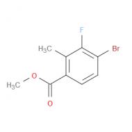 Methyl 4-bromo-3-fluoro-2-methylbenzoate