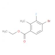 Ethyl 4-bromo-3-fluoro-2-methylbenzoate