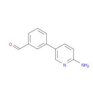 3-(6-Aminopyridin-3-yl)benzaldehyde