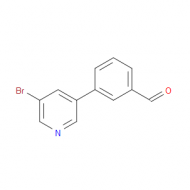 3-(5-Bromo-pyridin-3-yl)benzaldehyde