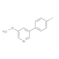 3-(4-Fluorophenyl)-5-methoxypyridine