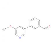3-(5-methoxy-3-pyridinyl)benzaldehyde