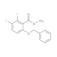 2,3-Difluoro-6-(phenylmethoxy)benzoic acid methyl ester