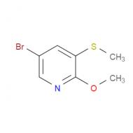 5-Bromo-2-methoxy-3-(methylthio)pyridine