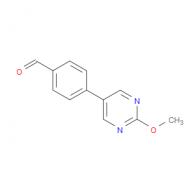 4-(2-Methoxypyrimidin-5-yl)benzaldehyde