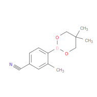 4-(5,5-Dimethyl-1,3,2-dioxaborinan-2-yl)-3-methyl-benzonitrile