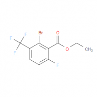 Ethyl 2-bromo-6-fluoro-3-(trifluoromethyl)benzoate