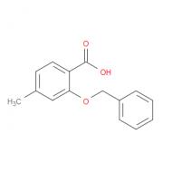 4-Methyl-2-(phenylmethoxy)benzoic acid