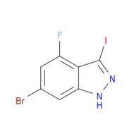 6-Bromo-4-fluoro-3-iodo-1H-indazole