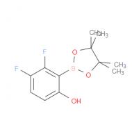 2-Hydroxy-5,6-difluorophenylboronic acid pinacol ester