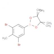 3,5-Dibromo-4-methylphenylboronic acid pinacol ester