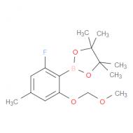 2-Fluoro-4-methyl-6-(methoxymethoxy)phenylboronic acid pinacol ester