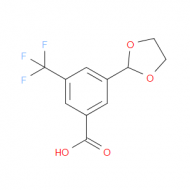 3-(1,3-dioxolan-2-yl)-5-(trifluoromethyl)-benzoic acid