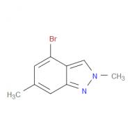 4-Bromo-2,6-dimethyl-2H-indazole