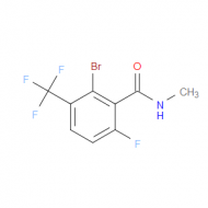 2-Bromo-6-fluoro-N-methyl-3-(trifluoromethyl)benzamide