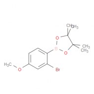 2-Bromo-4-methoxyphenylboronic acid pinacol ester