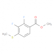 Methyl 2,3-difluoro-4-(methylthio)benzoate