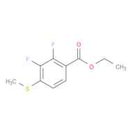 Ethyl 2,3-difluoro-4-(methylthio)benzoate