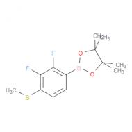2,3-Difluoro-4-(methylsulfanyl)phenylboronic acid pinacol ester