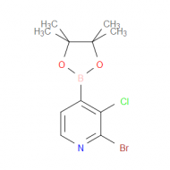2-Bromo-3-chloropyridine-4-boronic acid pinacol ester