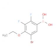 5-Bromo-2,3-difluoro-4-ethoxyphenylboronic acid