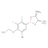 2-(5-Bromo-2,3-difluoro-4-ethoxyphenyl)-4,4,5,5-tetramethyl-1,3,2-dioxaborolane
