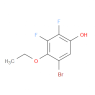 5-Bromo-2,3-difluoro-4-ethoxyphenol